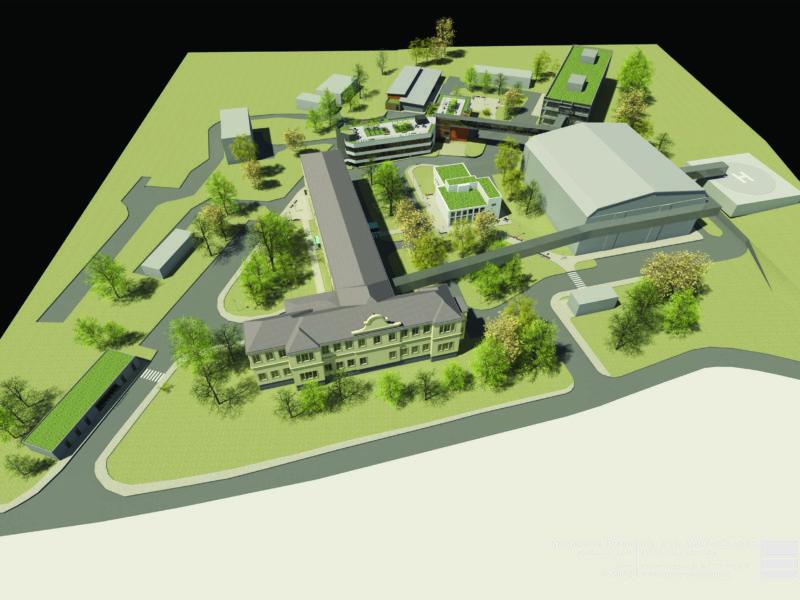 Areál Nemocnice Planá